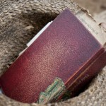 A Bible sits in a hat at nursing home Casa de Ancianos Bettel in Monte Christy, Dominican Republic.
